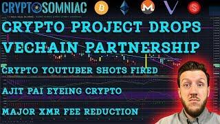 🚨Why Did A Partner Drop Vechain? 🚨 | Monero XMR Fees Drop 📉 | Crypto Youtube Drama 🎭