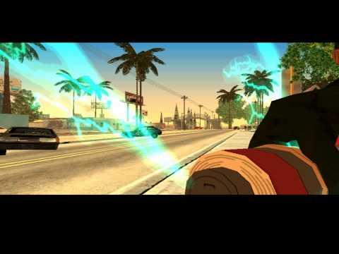 GTA San Andreas Naruto Storm 3(все техники!!)