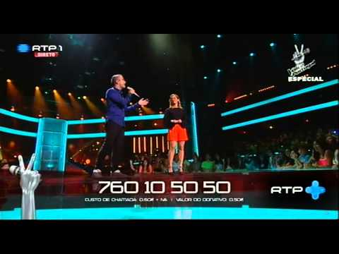"""Rui Drumond e Mariana Guedes – """"A Thousand Years"""" – Gala Solidária - The Voice Portugal"""