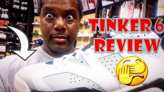 Air Jordan 6 Tinker Early In Hand Review! (Watch Before You Buy!)