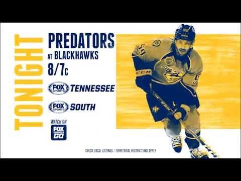 Watch the Nashville Predators on FOX Sports Tennessee