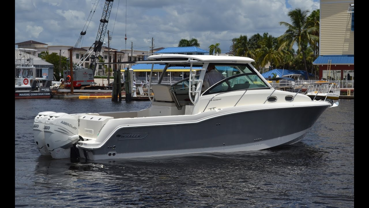 2017 Boston Whaler 315 Conquest For Sale at MarineMax Naples Yacht Center