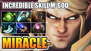M-God Incredible Invoker Skills by Miracle-  Dota 2 7.01