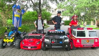 Video Little Heroes 4 - The Stealer, The Fire Engine and The Batmobile download MP3, 3GP, MP4, WEBM, AVI, FLV November 2017