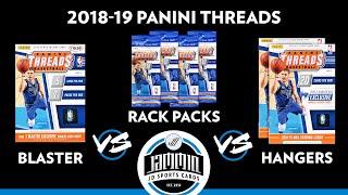 2018-19 Panini Threads Retail Versus Break - Blaster Box vs Hanger Box vs Rack Pack
