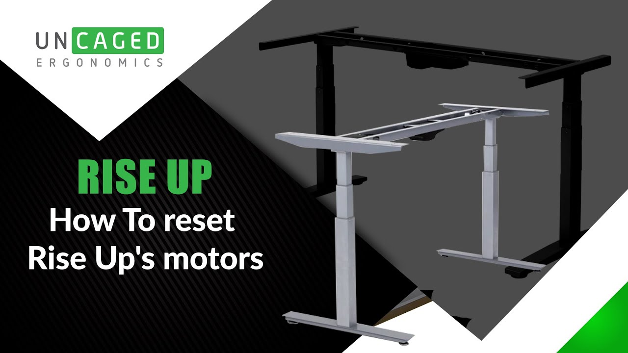 Rise Up Electric Standing Office Desk Motor Reset