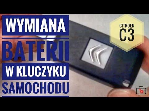 Wymiana baterii w kluczyku samochodu i reinicjalizacja