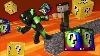 CASTIGOS de la SUERTE!! | sTaXx VS Willyrex | Carrera LUCKY BLOCKS