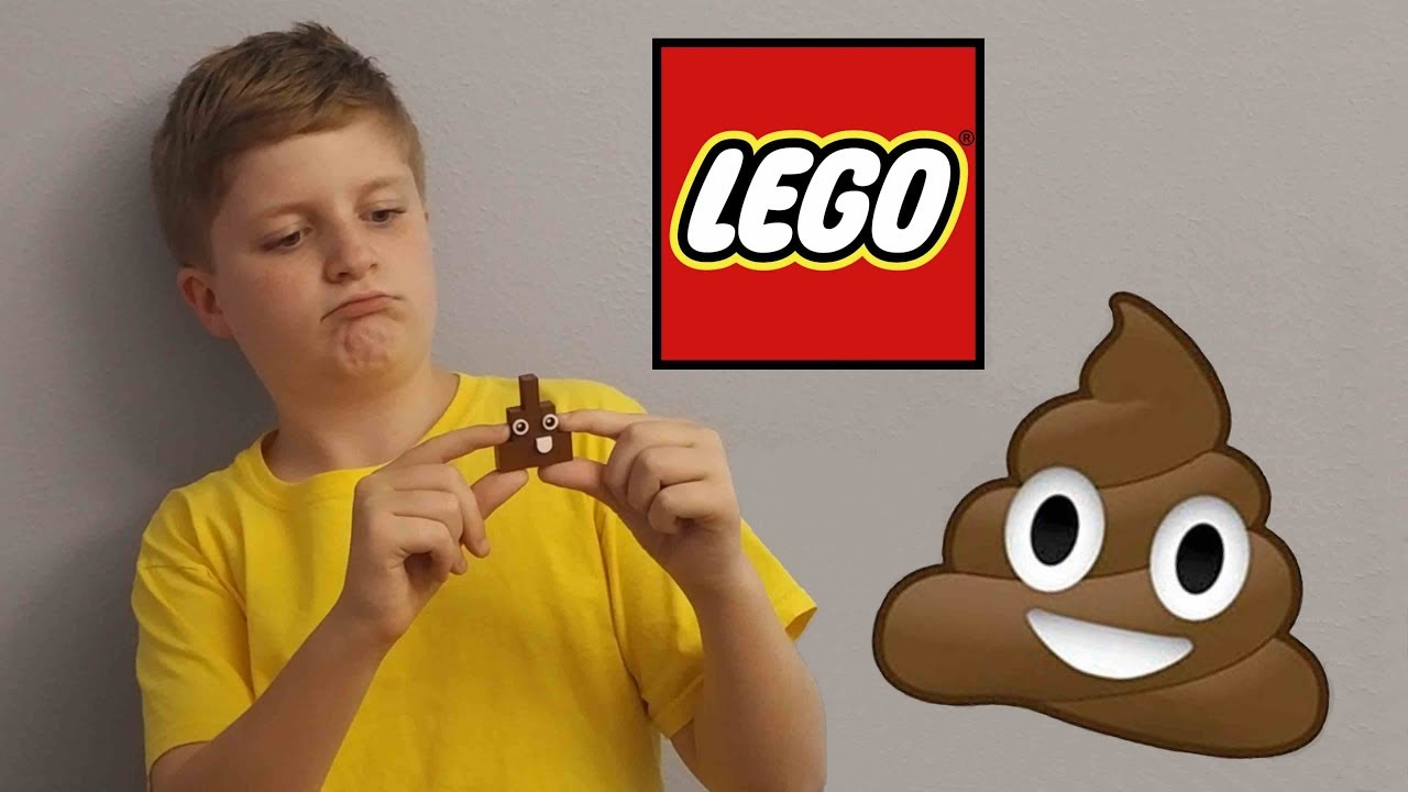 how to build a lego poop