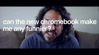 Can the new Chromebook make me any funnier? | Sponsored Video | Mike Falzone thumbnail