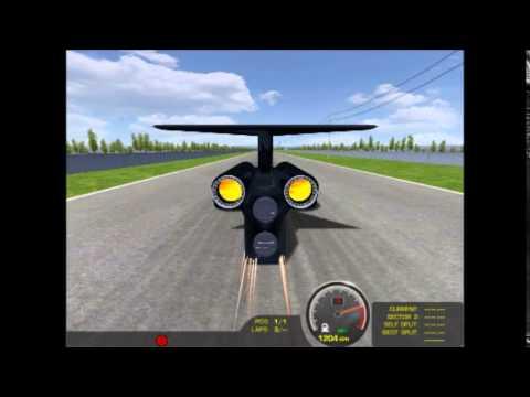 rFactor - Thrust SSC - 1500 km/h