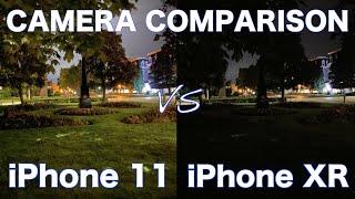 iPhone 11 VS iPhone XR - Camera Comparison!