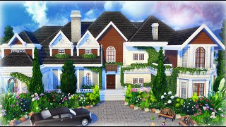 The Sims 4 House Building - Beryl's Base Game Mansion(, 2016-03-07T17:30:21.000Z)
