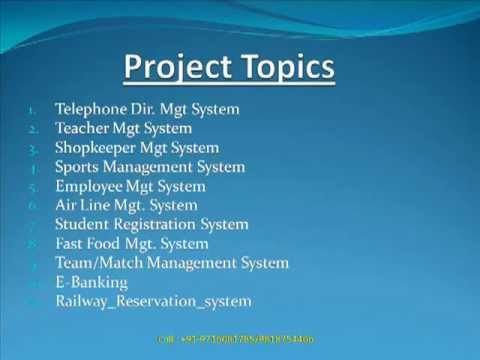 chemistry project topics Food chemistry science fair projects and experiments: topics, ideas, resources, and sample projects.