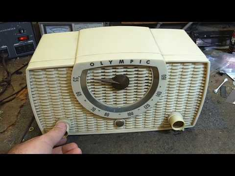 Assessment of 1958 Olympic model 441 AA5 table radio