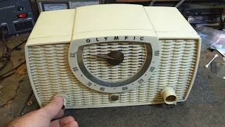 Assessment of 1958 Olympic model 440 AA5 table radio