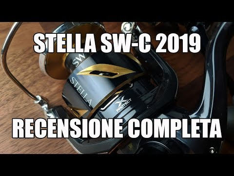 STELLA SW-C 2019 - RECENSIONE COMPLETA DEL MULINELLO MARINO TOP DI GAMMA SHIMANO