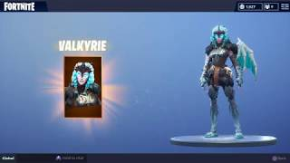 buying the Valkyrie Skin in Fortnite battle royale