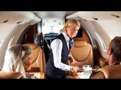 Lufthansa Private Jet and First Class