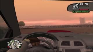 GTA San Andreas Subaru Impreza WRX Onboard Stunts