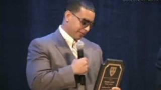 Daddy Yankee is honored at Harvard University