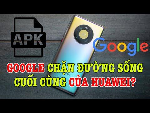 Xong, Google chặn đường sống cuối cùng của Huawei?