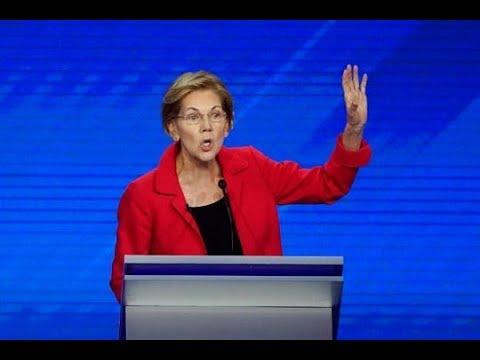 Elizabeth Warren Asked About Obama's Support Of TPP