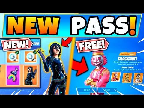 NEW BATTLE PASS & FREE SKINS In Fortnite! Annual Pass And Skins Leaked (Battle Royale Update)