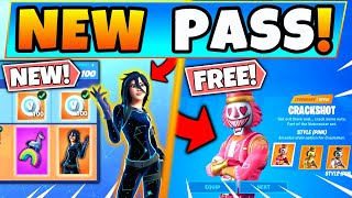 NEW BATTLE PASS u0026 FREE SKINS in Fortnite! Annual Pass and Skins Leaked (Battle Royale Update)