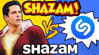 GUESS THAT SONG Challenge: SHAZAM! vs. Shazam (Ft. Zachary Levi)