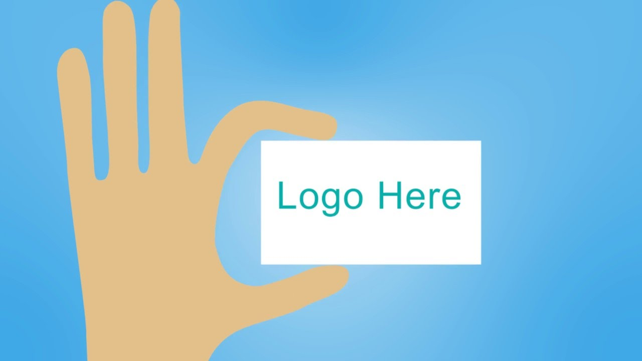 free logo indent animated business card - Animated Business Cards