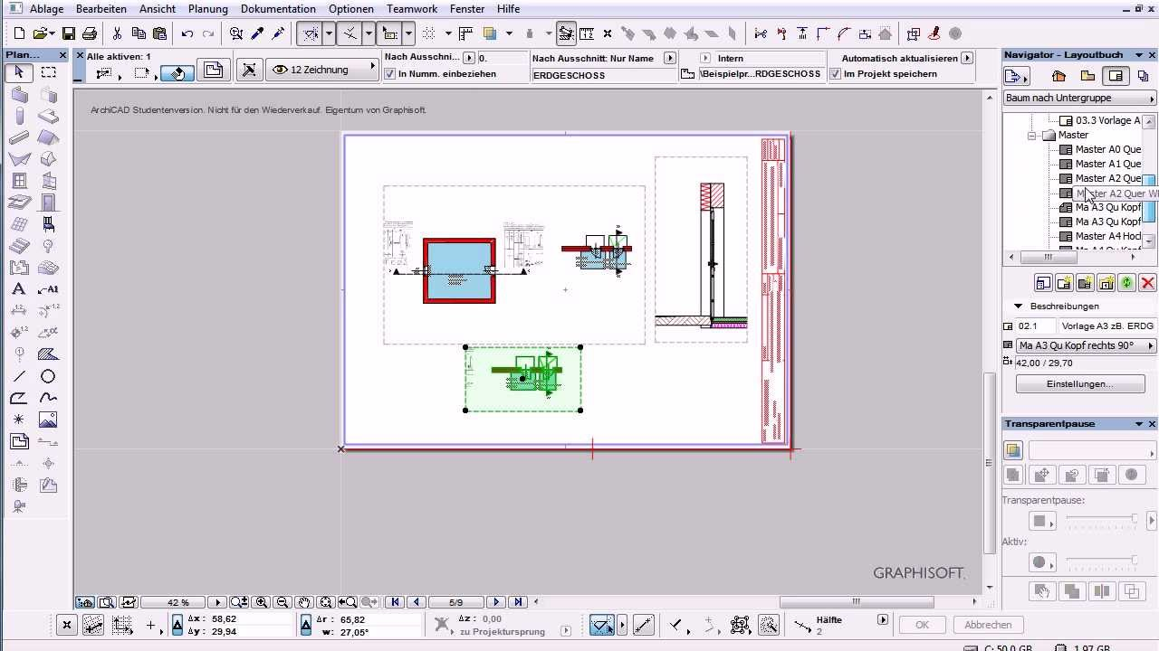 Archicad 16 Nano- Tut Layout-PDF einzeln erstellen.avi
