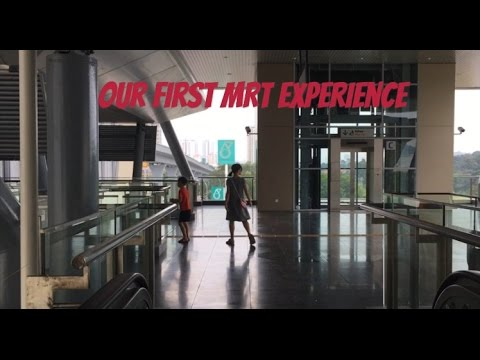 Our first MRT experience - Kota Damansara to Bandar Utama