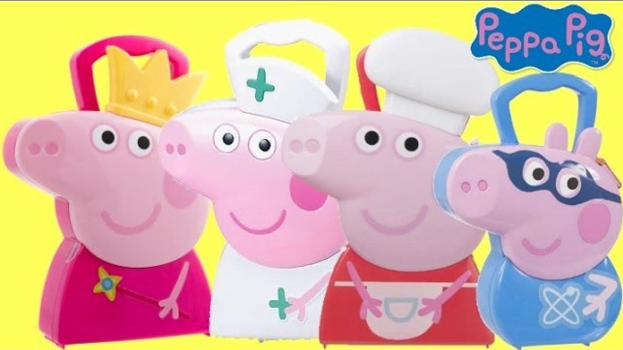Peppa étui Pig Medic Imagination And Assist Nurse Peppa avec son propre Peppa