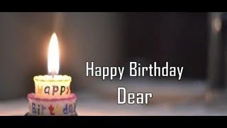 Happy Birthday Dear 🎂 #Shorts