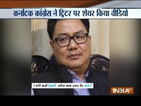 Karnataka Congress releases a video calling BJP as 'Beef Janta Party'