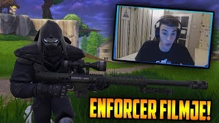 The FILM of the ENFORCER Skin FORTNITE?! 😳 LET'S LOOK AT IT! 🔥