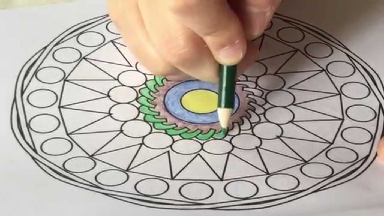 Mandala Coloring For Grown Ups