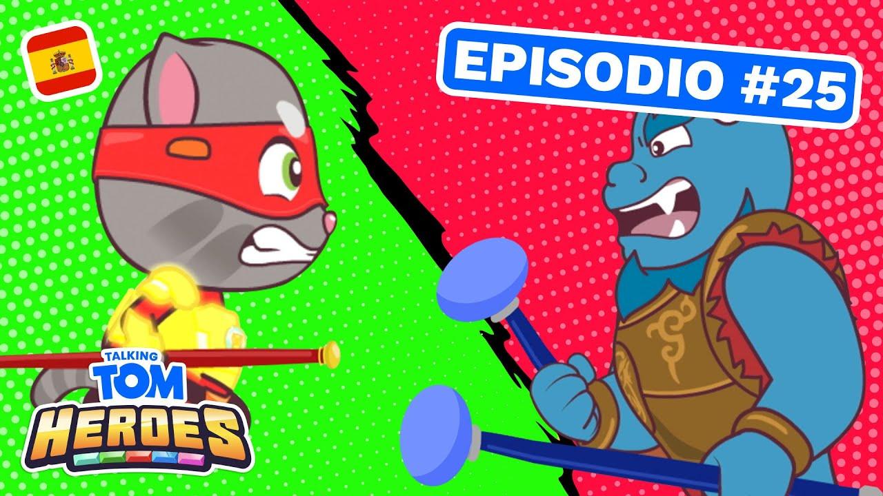 Talking Tom Heroes - Entrenamiento de héroes en vacaciones (Episodio 25)