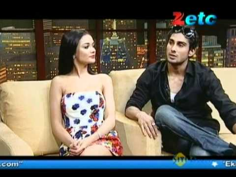 Komal Nahta with Prateik &  Amy Jackson