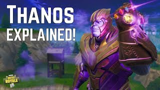 How To EASILY GET THANOS & THE INFINITY GAUNTLET! Pros & Cons! Fortnite Battle Royale