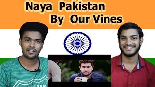Indian reaction on Naya Pakistan | 14 August Special | By Our Vines | Swaggy d