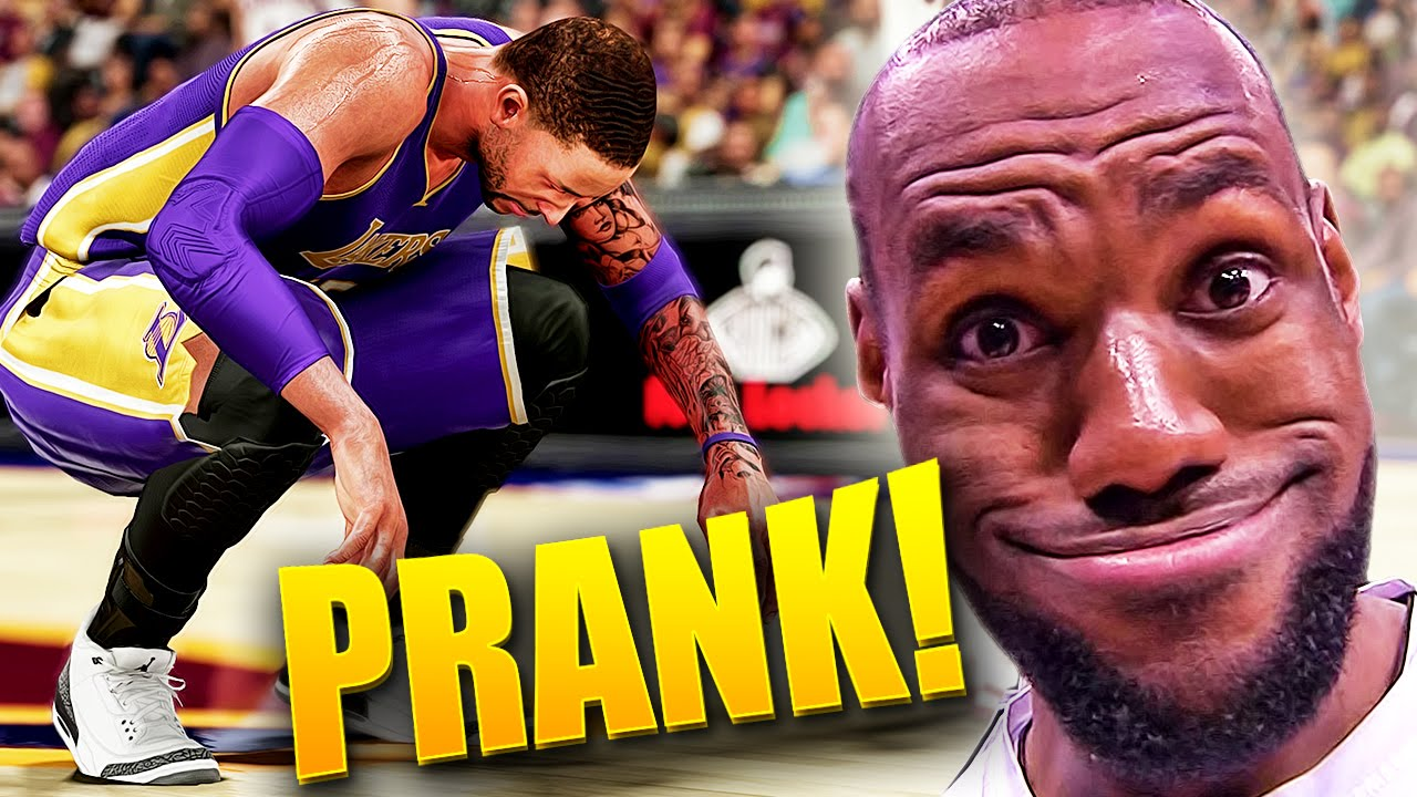 NBA 2K16 MyCAREER - PRANKED By LeBron James! Forced To Wear Street Shoes! -  YouTube