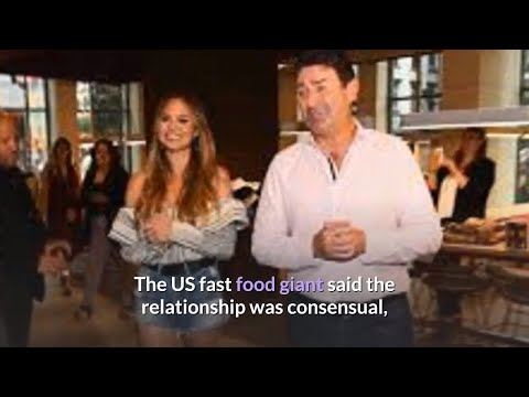 McDonald s boss Steve Easterbrook fired after dating employee from YouTube · Duration:  2 minutes 51 seconds