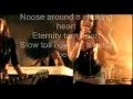 Nightwish - Bye Bye Beautiful With Lyrics