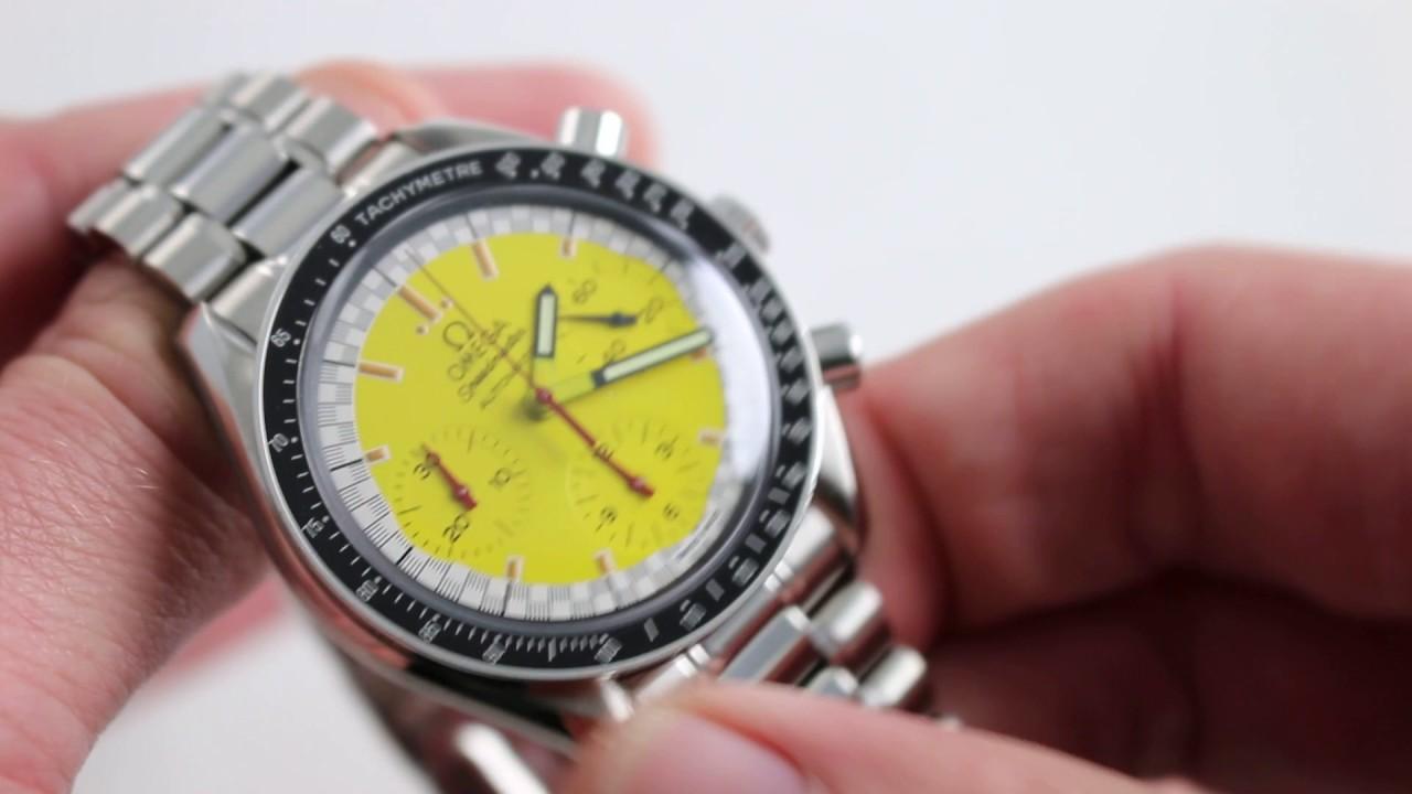 Omega Speedmaster Reduced Schumacher Ref. 3510.12.00 Watch ...
