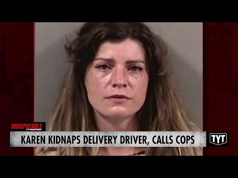 Karen KIDNAPS A Delivery Driver And Calls COPS