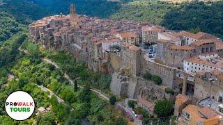 Tuscany Hill Town Drone Tour [4K Mavic 2 Pro]