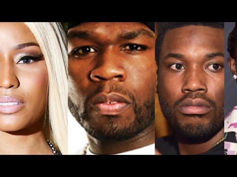 Nicki minaj: 50 Cent, Meek Mill and Young Thug REACT to 'Barbie Dreams' DISS (joke)