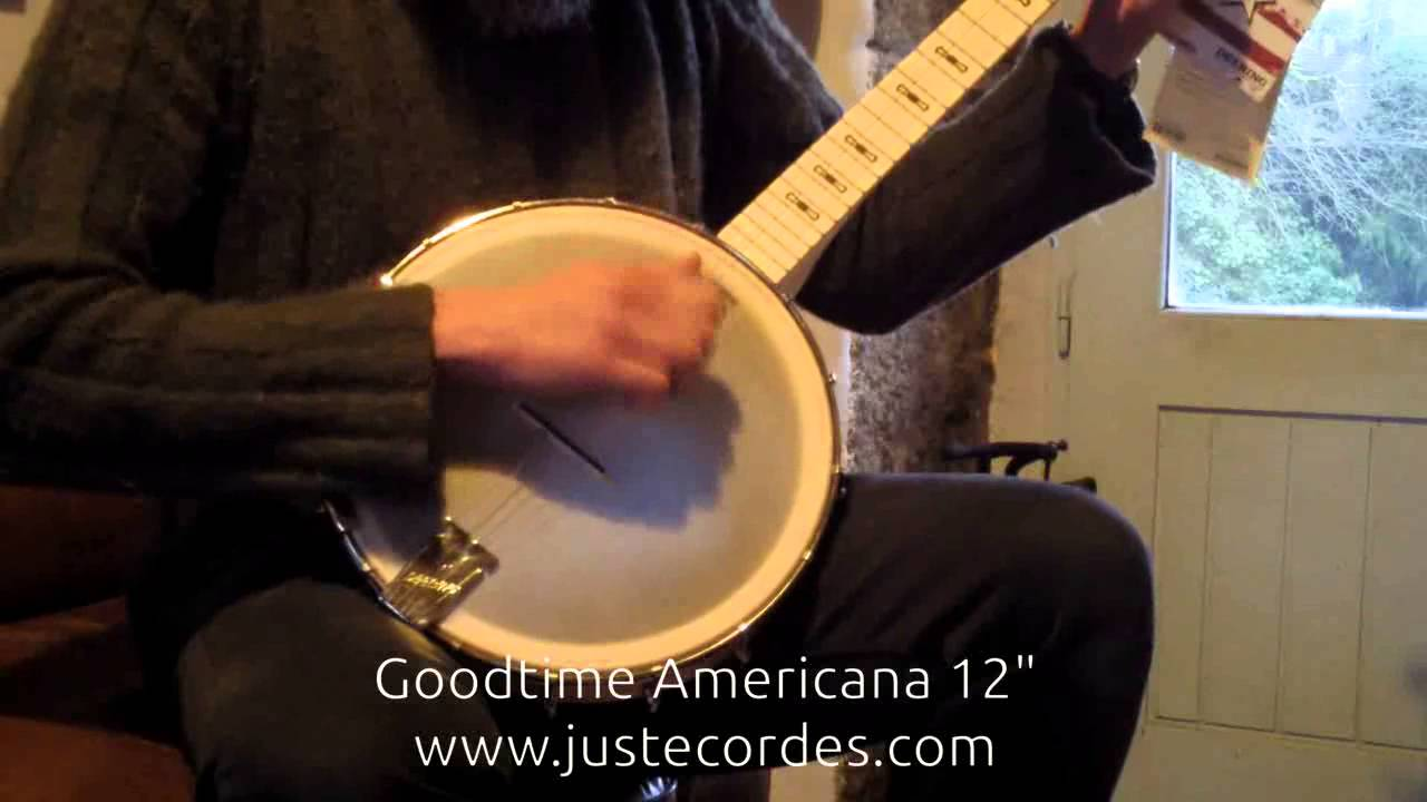 Clawhammer banjo:Comparing the Goldtone BC120 and the Goodtime Americana